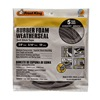 Thermwell R538H 3/8x5/16 BLK Foam Tape