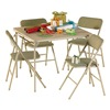 Cosco 14-551-WHD 5Pc Table/Chair Set