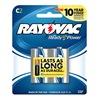 Rayovac 814-2 Rayo 2Pk C Alk Battery