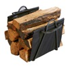 Panacea Products Corp 15216 Fireplace Black Log Tote