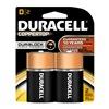 Procter & Gamble/Duracell MN1300B2Z DURA 2PK D Alk Battery