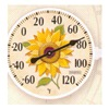 "Taylor Precision Products 90176 6"" Thermometer Sunflowr"