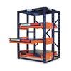 Jarke EZ484872 Roll Out Shelving, 3 Shelf, 48x48x72-1/2H