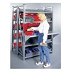 Schaefer GRM71222S Boltless Shelving, Sgl Tilt, 48x24, 4 Shelf