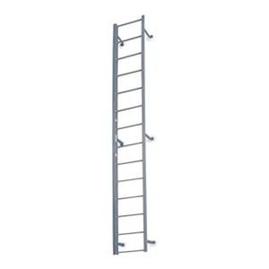 COTTERMAN Fixed Ladder, 14 ft. 3 In H, Steel at Sears.com