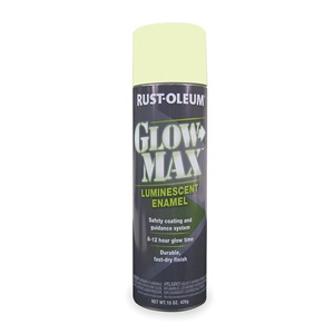 rust oleum 223886 glow in the dark spray paint green 15 oz be the. Black Bedroom Furniture Sets. Home Design Ideas