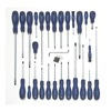 Westward 1CLG1 Assorted Combination Screwdriver Set Acetate,  Number of Pieces: 29