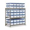 Edsal RSS7218 Records Storage Rack, Starter Unit, W 72