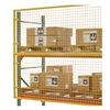 Husky RGW12000-05000 Pallet Rack Protector, 144W x 60H, Yellow