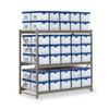 Edsal RSS6036 Records Storage Rack, Starter Unit, W 60