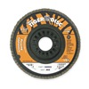 Weiler 50008 Arbor Mount Flap Disc, 4-1/2in, 80, Medium