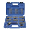 Westward 1VXP1 Screwdriver Bit Set, 1/4 Hex Dr, 86 Pc