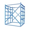Vestil LBPH-77 Long Bar Storage Rack, Starter, W 48, L 48