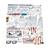 Proto JCS-0558MAS SAE and MetricMaster Tool Set Number of Pieces: 558,  Primary Application: Technician