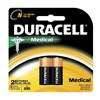 Duracell MN9100B2PK Battery, N, Alkaline, 1.5V, PK 2