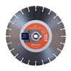 Husqvarna EH5-16 Diamond Saw Blade, Wet/Dry, Segmented Rim, 16 InOD