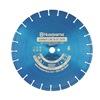 Husqvarna Blue250V-14 Diamond Saw Blade, Wet, Segmented Rim, 14 In Dia