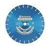 Husqvarna Blue250V-20 Diamond Saw Blade, Wet, Segmented Rim, 20 In Dia
