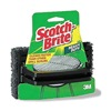 Scotch-Brite 7721 Grill Scrub, Red/Brown, 6In L, 4In W, PK12