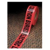 3M 302 Barricade Marking Tape, 3In W, Red, PK8