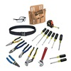 Klein Tools 80118 Electricians Tool Set, Journyman, 18-Piece