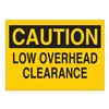 Brady 87790 Safety Label, 3-1/2 In. H, 5 In. W