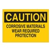 Brady 87766 Safety Sign Label, 3-1/2 In. H, 5 In. W