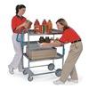 Lakeside 7010 Utility Cart, Stainless Steel, 2 Shelves