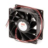 Dayton 2RTH9 Axial Fan, 12VDC, 3-5/8In H, 3-5/8In W