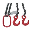 Dayton 2UKE5 Chain Sling, G80, DOS, Alloy Steel, 5 ft. L