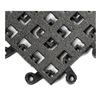 Wearwell 561.78x18x18BK-CS10 Grit Tile Mat, Open Grid, 18 x 18, Pk 10
