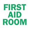 Brady 22673 First Aid Sign, 10 x 14In, GRN/WHT, ENG