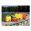 Pelican 1450-000-150-G Protective Case, Orange, 16 x 13 x 6.87 In