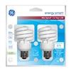 GE Lighting 85390 Ge 2Pk 13W Sw Bulb