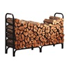 Panacea 15204 8' Blk Stl Dlx Log Rack