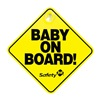 Safety 1st 48918 Yel Baby On Board Sign