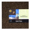 Acco Brands Inc 15050Q 4PK12x12 Dark Cork Tile
