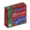 Noma/Inliten-Import 925B-88 HW 25LT C9 BLU LGT Set