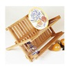Lipper International Inc 8813 Bamboo Folding Dishrack