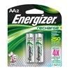 Energizer NH15BP-2 Rechargeable Battery, 2450mAh, PK 2