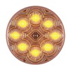 Maxxima M16280YCL Clearance Light, LED, Amber, 2-1/2 In Dia