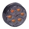 Maxxima AX30YCG-KIT Clearance Light, LED, Amber, Grommet, 2 Dia
