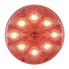 Maxxima M16280RCL Clearance Light, LED, Red, Round, 2-1/2 Dia