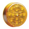 Maxxima M11300Y Clearance Light, LED, Amber, 2-1/2 In Dia