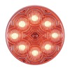 Maxxima AX10RCG-KIT Clearance Light, LED, Red, Round, 2-1/2 Dia
