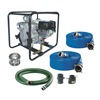 Dayton 7AJ21 Engine Drive Pump Kit,  8 HP, Honda Engine