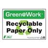 Zing 1026 Environmental Awareness Sign, 7 x 10In