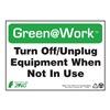 Zing 1038 Environmental Awareness Sign, 7 x 10In