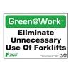 Zing 1051 Environmental Awareness Sign, 7 x 10In
