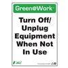 Zing 2038 Environmental Awareness Sign, 14 x 10In
